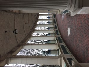 The Hall of Fame colonnade