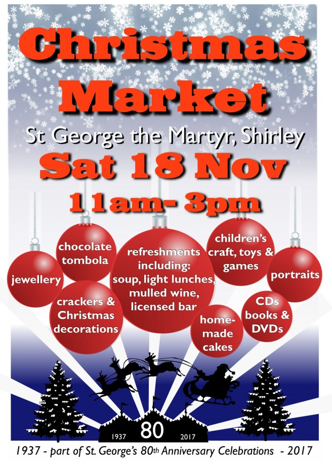 St George Church XMAS Market 2017