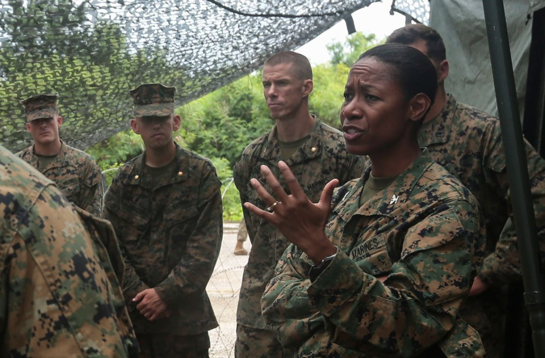 Shes Set to Be the First Black Woman to Serve as a Marine General