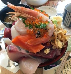 おかせい『女川丼』①