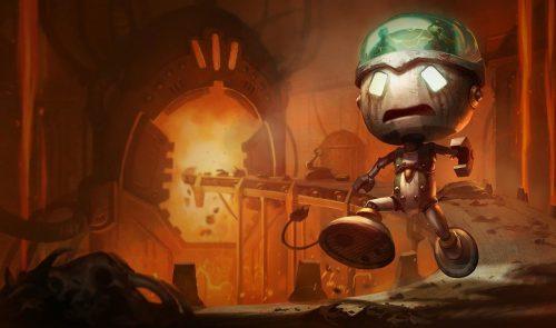 Sad Robot Amumu :: League of Legends (LoL) Champion Skin on MOBAFire