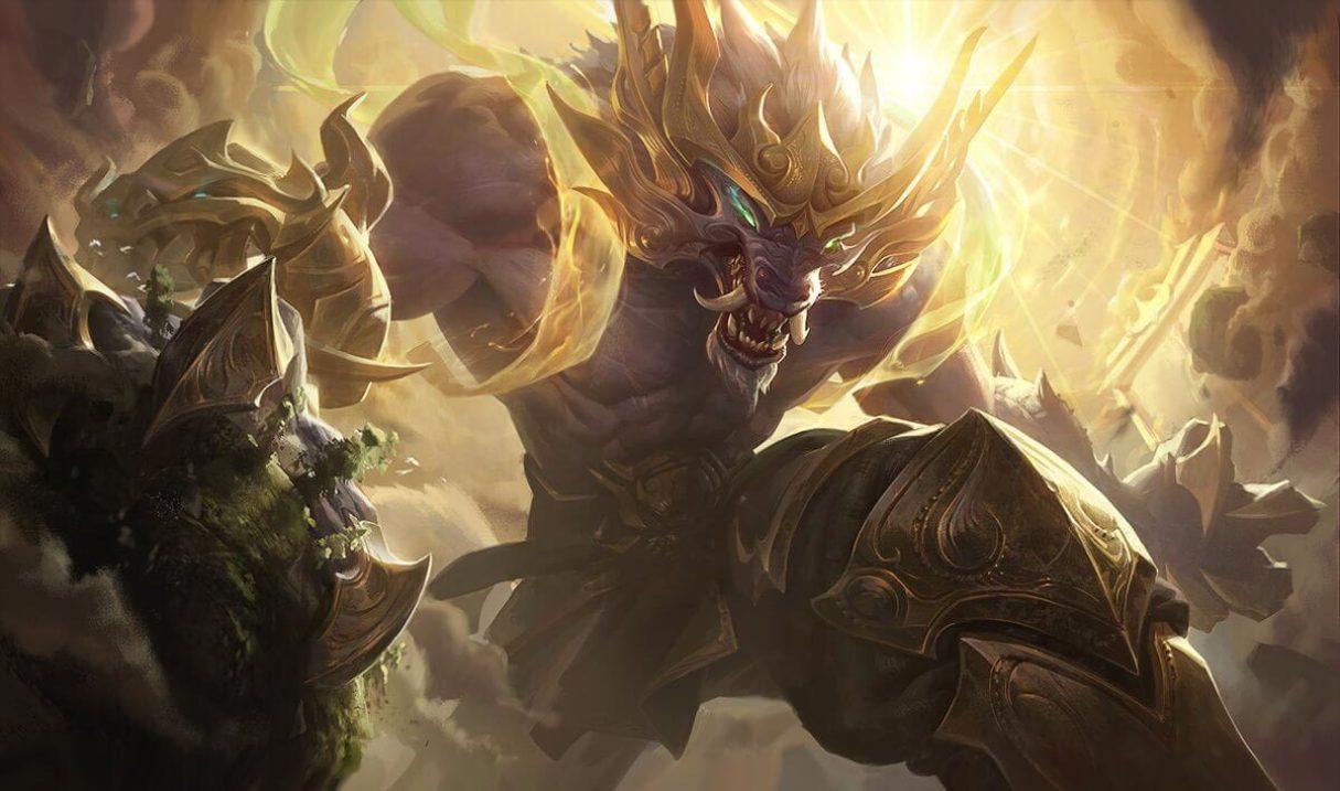 Lunar Guardian Warwick :: League of Legends (LoL) Champion Skin on MOBAFire