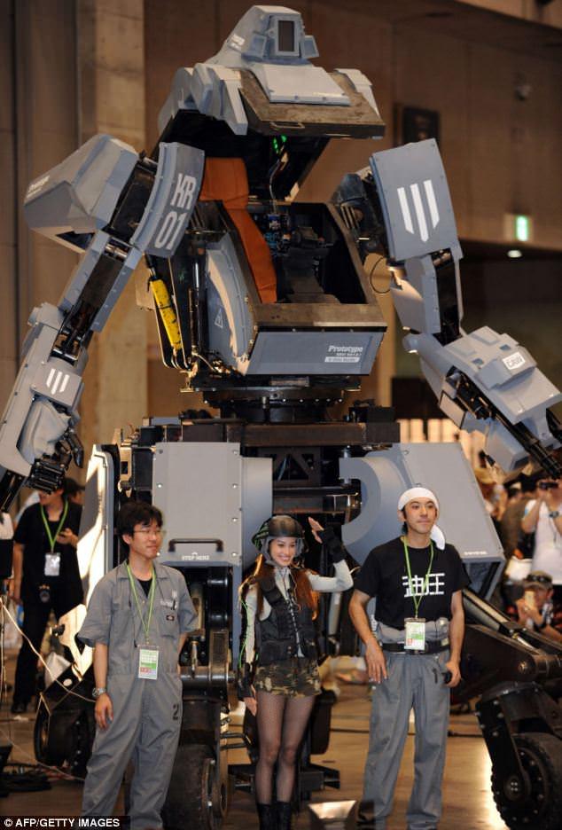 Kuratas mech robot