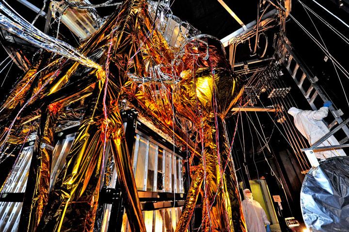 Teleskop James Webb Testing Kabel
