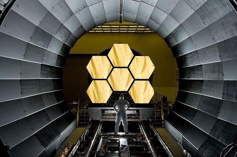 Teleskop James Webb Testing