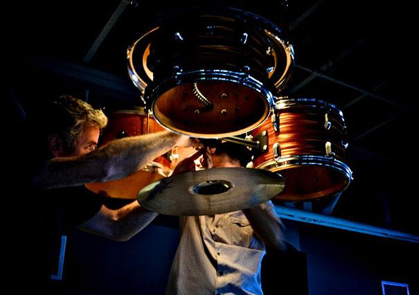 diy lampu drum set bekas 4
