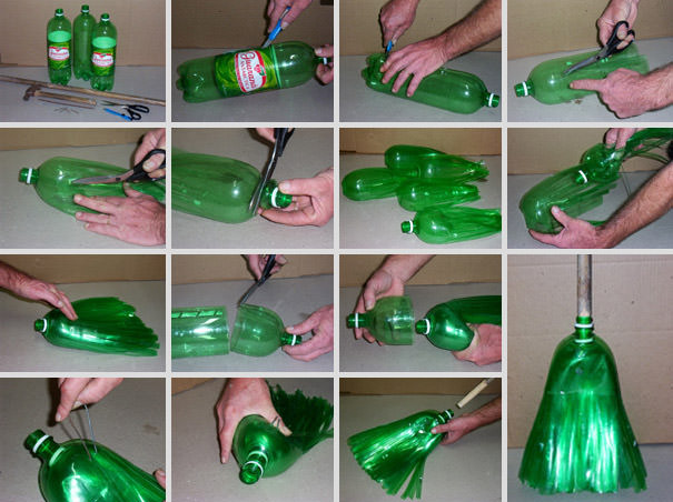 tips memanfaatkan botol plastik bekas diy 8