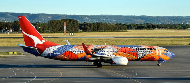 qantas aboriginal art