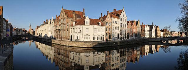 kanal bruges belgia 2