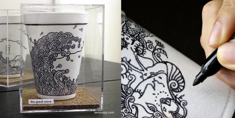 ide kreatif menggunakan styrofoam 2