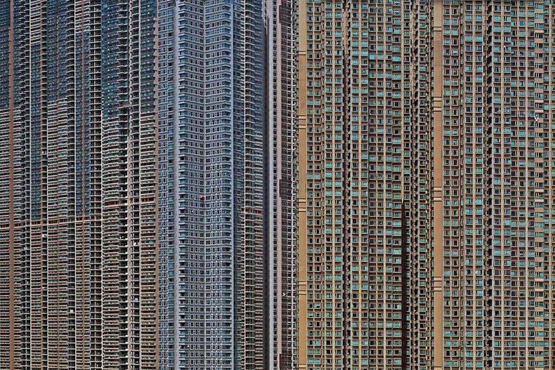 hong kong architecture of density 4