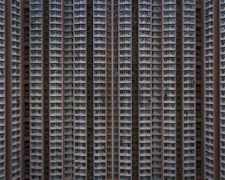 hong kong architecture of density 9