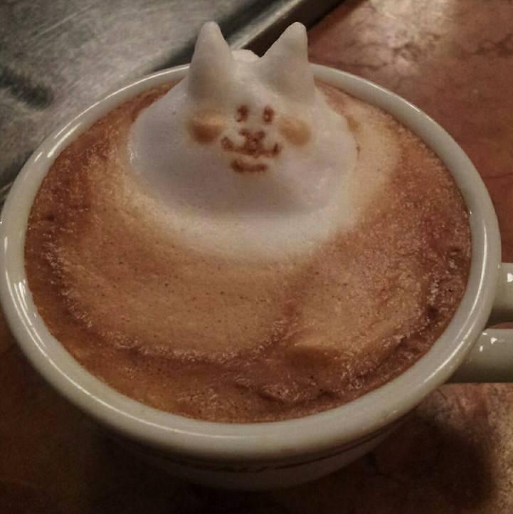 3d coffe latte art 10