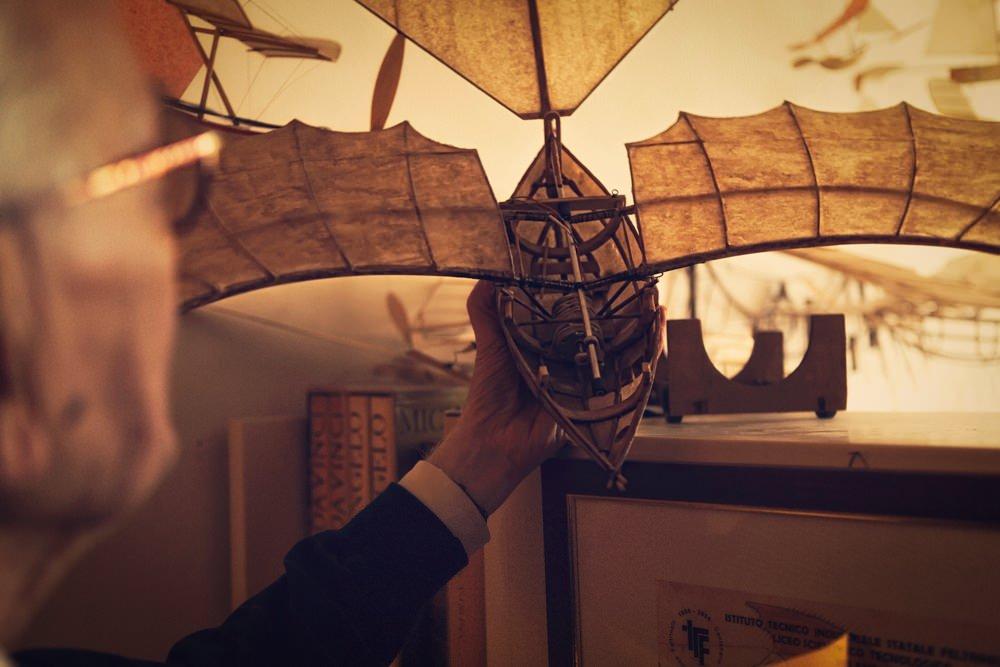 model kapal terbang luigi prina 6