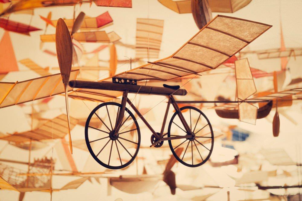 model kapal terbang luigi prina 7