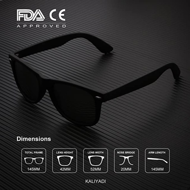 Buy Polarized Sunglasses for Men and Women 100% PROTECT YOUR EYES WITH STYLE 5