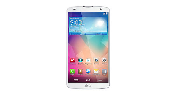LG G Pro 2 LG-D838 Front View