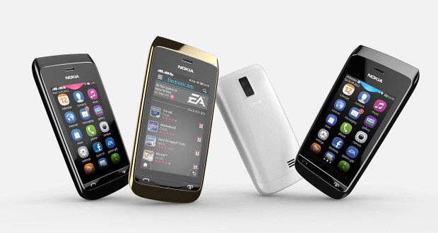Nokia Asha 310 Overall View