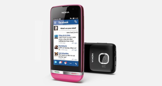 Nokia Asha 311 Front and Back View