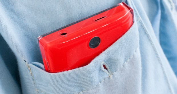 Nokia Asha 500 Back View