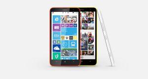 Nokia Lumia 1320 Overall View