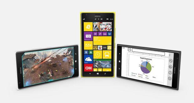 Nokia Lumia 1520 Overall View