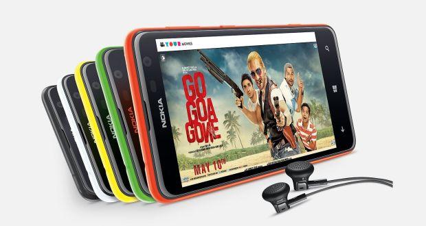 Nokia Lumia 625 Overall View