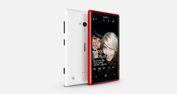 Nokia Lumia 720 Side View