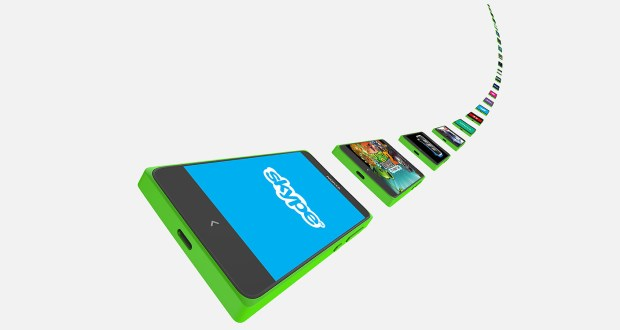 Nokia X Plus Front View