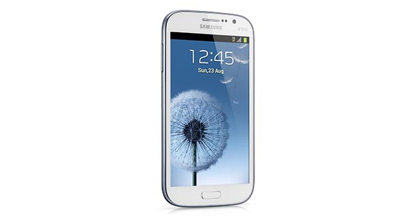 Samsung Galaxy Grand Front and Side View