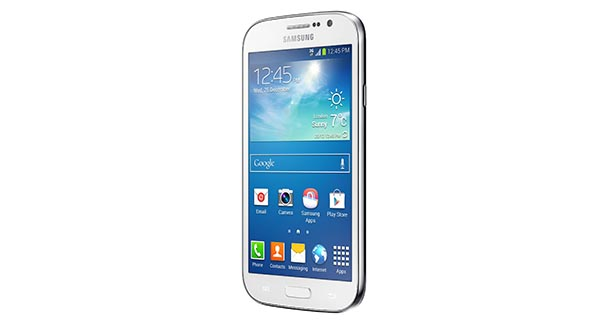 Samsung Galaxy Grand Neo Front and Side View
