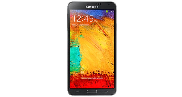 Samsung Galaxy Note 3 Front View