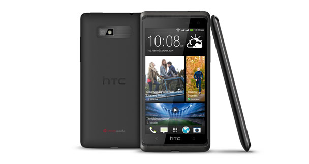 HTC Desire 600 Dual Sim Front and Back View