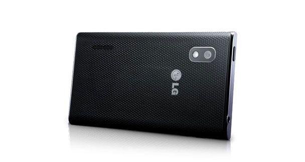LG Optimus L5 E612 Horizontal Back View