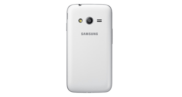Samsung Galaxy Ace Nxt Back View