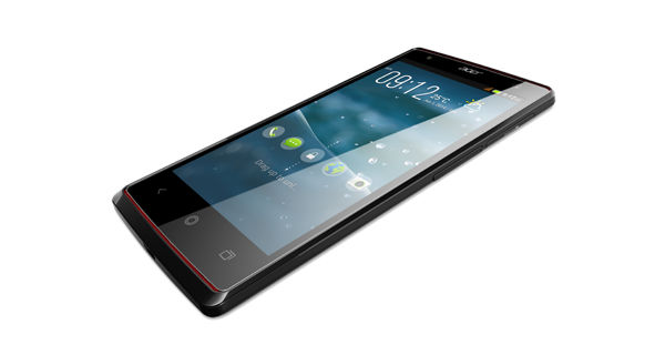 Acer Liquid E3 Front and Side View