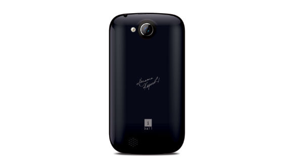 Iball Andi 3.5kke Genius Back View