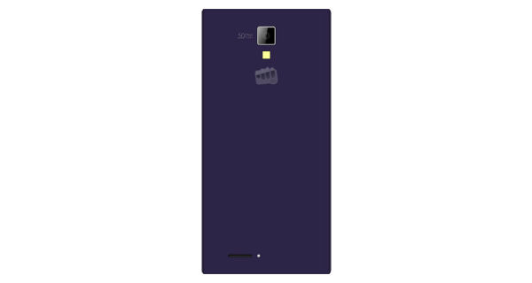Micromax Canvas Xpress Back View