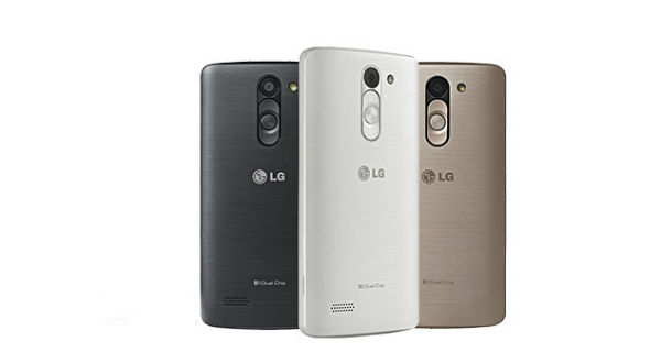LG L Bello Back View