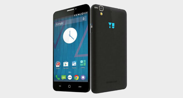 Micromax Yu Yureka Front and Back View