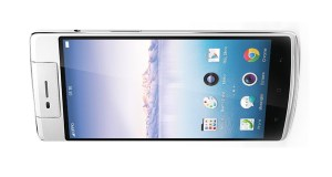 Oppo N3 Horizontal Front View