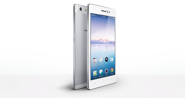 Oppo R5 Vertical Side View