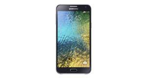 Samsung Galaxy E7 Front View