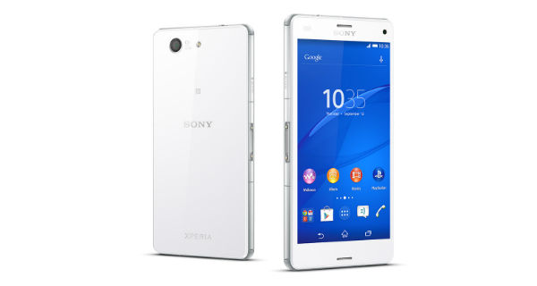 Sony Xperia Z3 Compact Front and Back View