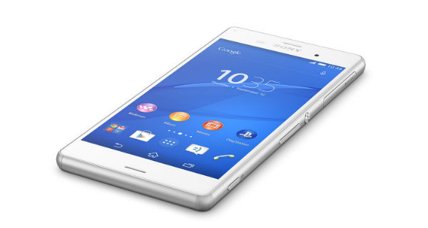 Sony Xperia Z3 Front View