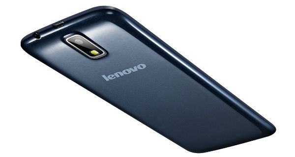 Lenovo A328 Back and Side View