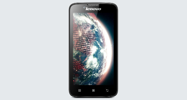 Lenovo A328 Front View