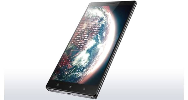 Lenovo VIBE Z2 Pro Front & Side View