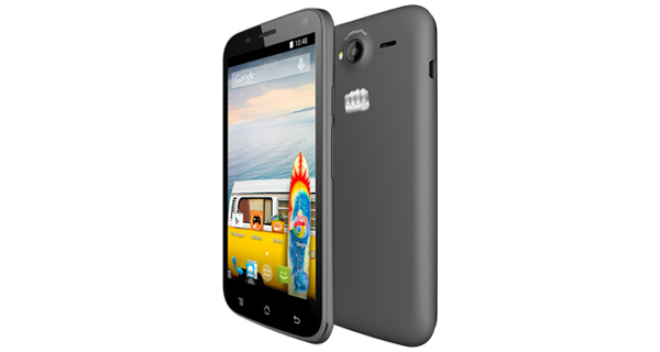 Micromax Bolt A82 Back & Front View