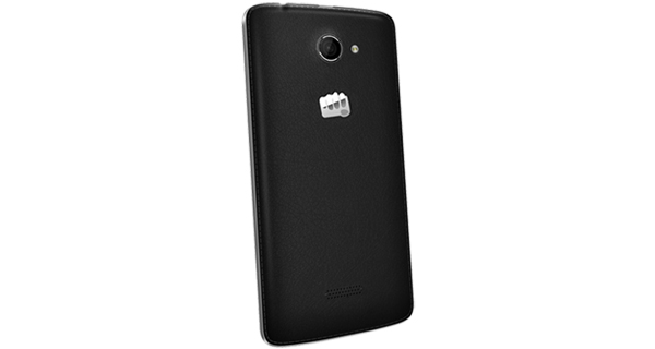 Micromax Canvas Win121 Back & Side View